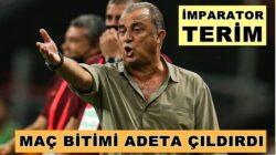 Fatih Terim'den Gaziantep FK Maçı sonrası zehir zemberek açıklamalar