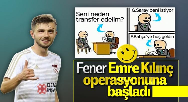 Fenerbahçe, Emre Kılınç'ı ikna görevini Mert Hakan Yandaş'a verdi