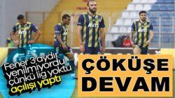 Fenerbahçe'ye Süper Lig'de bir darbede Kasımpaşa'dan geldi !