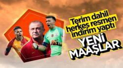 Galatasaray'da Fatih Terim dahil herkes ücretini indirdi !
