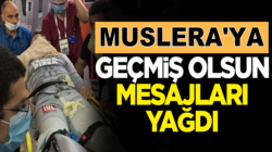 "Galatasaray'li Fernando Muslera'ya ""geçmiş olsun"" mesajları yağdı"