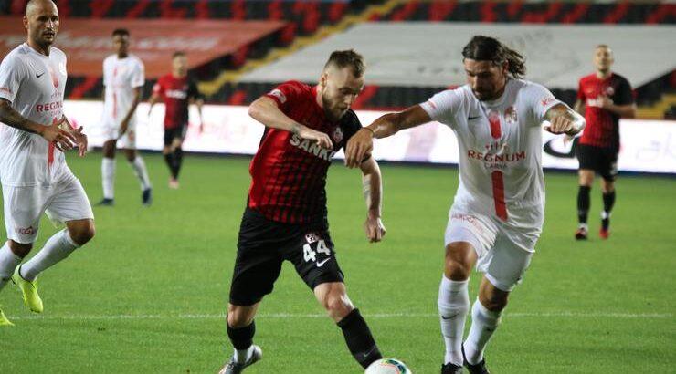 Gaziantep FK Antalyaspor ile sahasında berabere kaldı