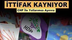HDP'nin CHP'ye 'ortak mücadele' çağrısı iyi partiyi gerdi