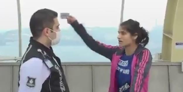 İstanbul Haliç Metrosunda Güvenlik görevlisine skandal sözler!