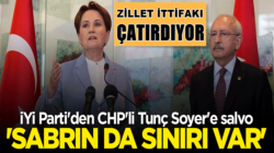 İYİ Parti'li Musvat Dervişoğlu'ndan Tunç Soyer'e salvolar