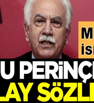 MHP'li Cemal Enginyurt'tan Doğu Perinçek'e olay sözler