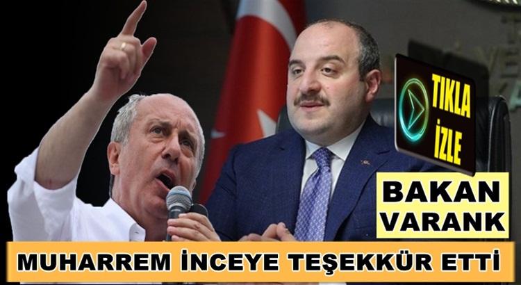 Mustafa Varank'tan CHP'li Muharrem İnce'ye olay gönderme!