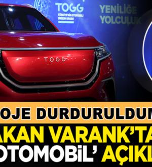 Mustafa Varank'tan yerli otomobil projesi hakkında açıklama