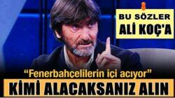 Rıdvan Dilmen: Fenerbahçe Başkanı Ali Koç hata yapmaya devam ediyor