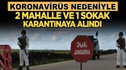 Şanlıurfa'da Koronavirüs nedeniyle 2 mahalle, 1 sokak, karantinaya alındı