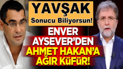 Solakşör Enver Aysever'den Ahmet Hakan'a ağır küfür !