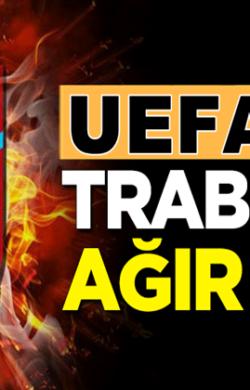 Trabzonspor'a UEFA'dan Avrupa'dan 1 yıl men cezası geldi