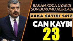 Türkiye Koronavirüs 21 Haziran bilançosunu Bakan Koca açıkladı