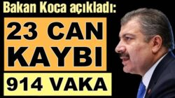 Türkiye Koronavirüs 7 Haziran verilerini Bakan Koca açıkladı