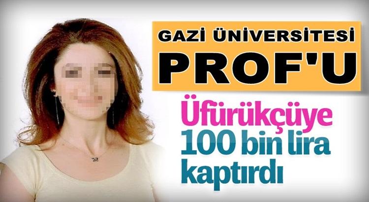 Üfürükçü Falcı Gazi Üniversitesi profesörünü dolandırdı