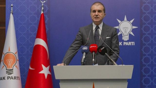 """Ömer Çelik'ten Yunanistan'a """"Ayasofya"""" cevabı"""