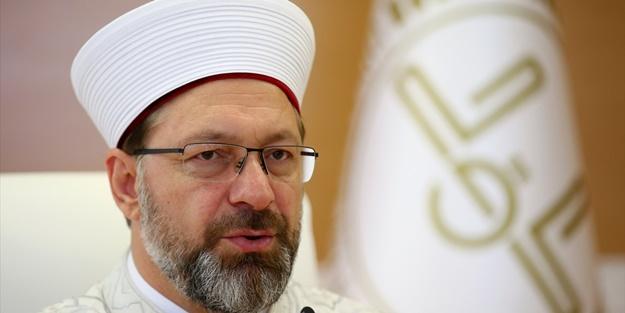 Ayasofya Camii'inde kaç imam olacak Ali Erbaş Açıkladı