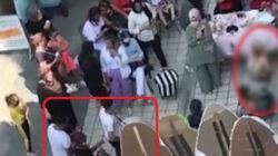 Bursa'da Dansözü gören koronavirüsü unuttu sosyal mesafe hiçe sayıldı