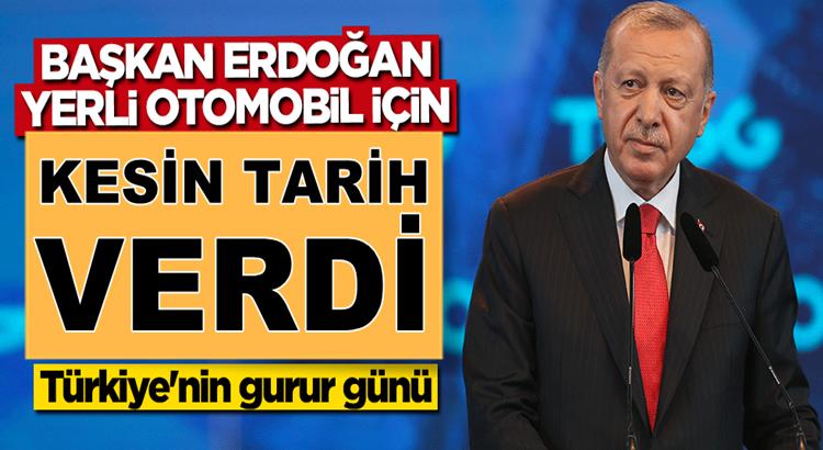 Erdoğan yerli otomobil fabrikasının temel atma töreninde konuştu