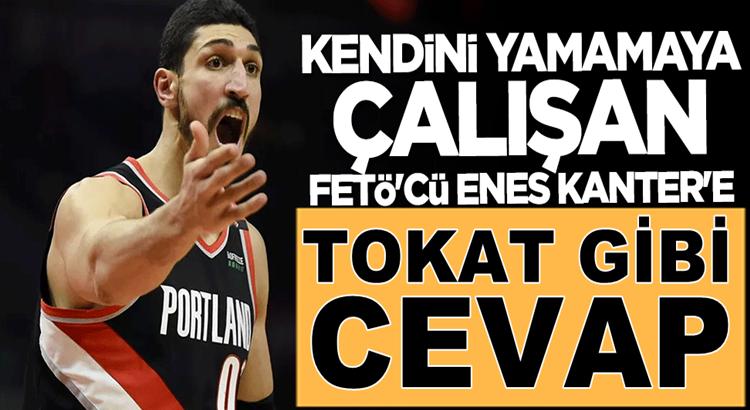 Fenerbahçe'den FETÖ'cü Enes Kanter'e tokat gibi cevap