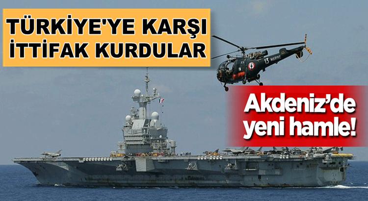 Fransa ve Güney Kıbrız Türkiye'ye karşı askeri ittifak kurdular!