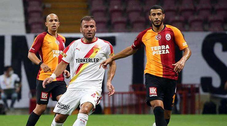 Galatasaray evinde Göztepe'yi yenerek kötü gidişe dur dedi