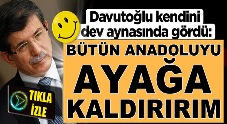 Gelecek Partisi Lideri Ahmet Davutoğlu'ndan boyunu aşan sözler