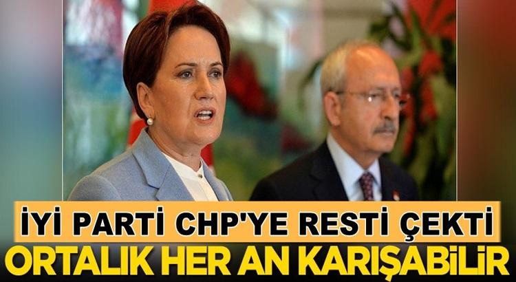 İYİ Parti İstanbul'dan  CHP'ye resti çekti! Şimdi ne olacak