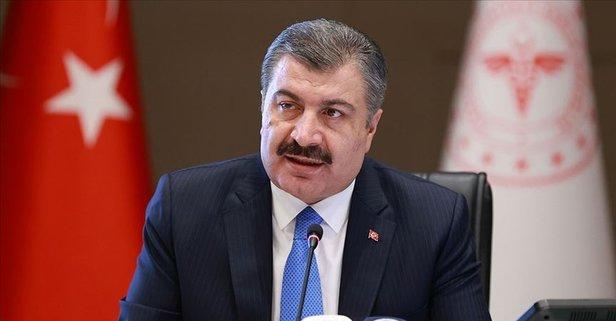 Koronavirüs 1 Temmuz verilerini sağlık Bakanı Fahrettin Koca açıkladı