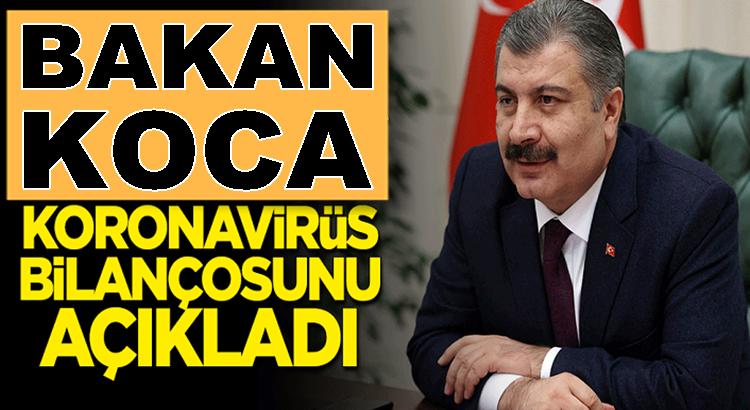 Koronavirüs 12 Temmuz verilerini Bakan Fahrettin Koca açıkladı