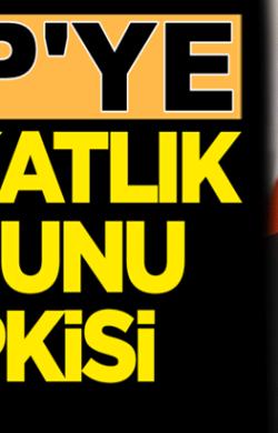 MHP'li Feti Yıldız'dan CHP'ye Avukatlık Kanunu tepkisi