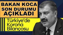 Sağlık Bakanı Fahrettin Koca 9 Temmuz Koronavirüs bilançosunu açıkladı