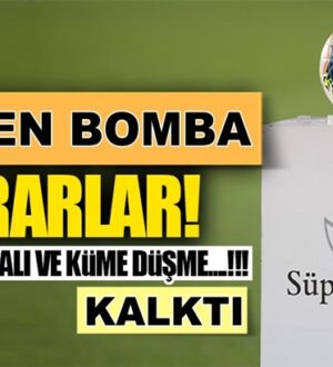 Süper Lig'de Malatyaspor, Ankaragücü ve Kayserispor kümede kaldı