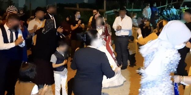 Bursa'nın Yıldırım ilçesinde Koronavirüslü kaynana düğüne katılanları yaktı