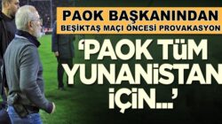 Beşitaş'ın rakibi Yunanistan'ın PAOK Başkanı Ivan Savvidis açıklama