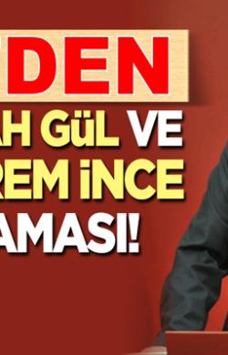 CHP'li Faik Öztrak'tan 'Abdullah Gül' ve 'Muharrem İnce' açıklaması!