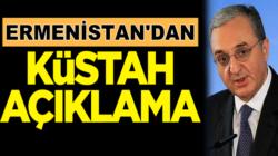 Ermenistan'dan Türkiye hakkında skandal ve küstah açıklama