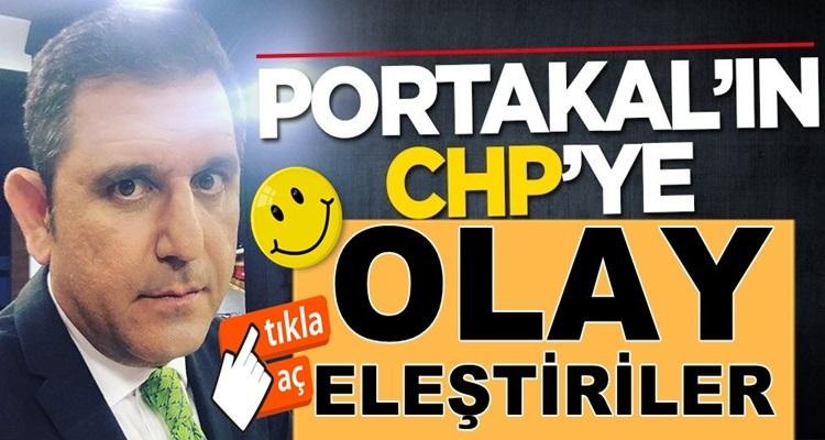 Fox Haber sunucusu Fatih Portakal'dan CHP'ye Muharrem İnce eleştirisi