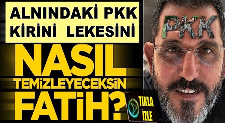 Fox TV'den ayrılan Fatih Portakal'ın alnındaki PKK lekesi