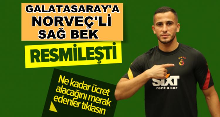 Galatasaray Omar Elabdellaoui'yi transfer ettiğini açıkladı