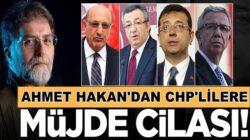 Hürriyet Yazarı Ahmet Hakan'dan CHP'lilere Doğalgaz cilası yazısı