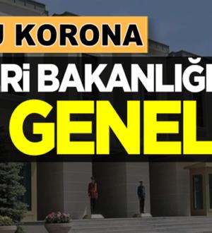 İçişleri Bakanlığından 81 ile ek genelge! Pilot il Kırıkkale