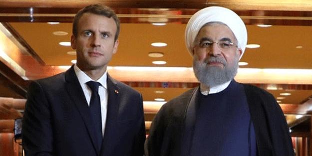 İran lideri Hasan Ruhani, Emmanuel Macron'dan ne istedi