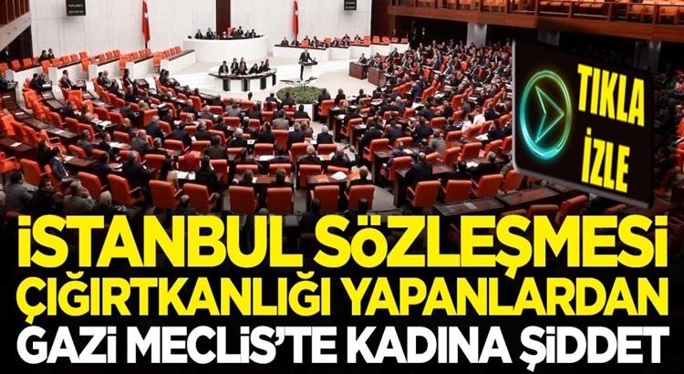 İstanbul Sözleşmesi çığırtkanları HDP ve CHP'den kadına şiddet
