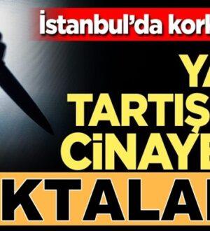 İstanbul'da dehşet !Yatak kavgası cinayetle neticelendi