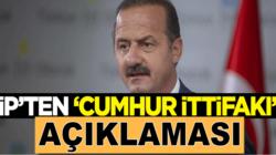 İyi Parti'li Yavuz Ağıralioğlu'ndan 'Cumhur İttifakı' açıklaması
