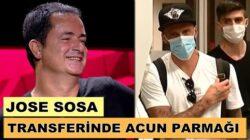 Jose Sosa, İstanbul'a Acun Ilıcalı'nın özel uçağıyla geldi