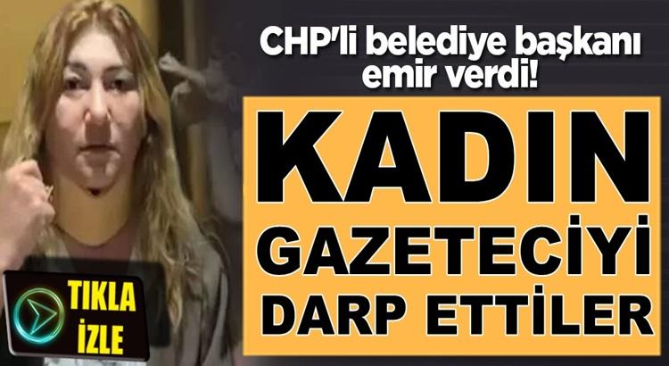 Kırşehir Belediye Başkanı Selahattin Ekicioğlu kadın gazeteciyi darp ettirdi