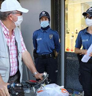 Kocaeli'de Koronavirüs tedbirine uymayan 66 kişiye ceza kesildi