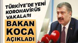 Koronavirüs 5 Ağustos verilerini Bakan Fahrettin Koca Açıkladı